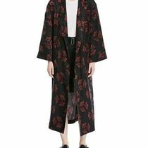 a.l.c. York Printed Silk Robe Jacket Size 2 Photo