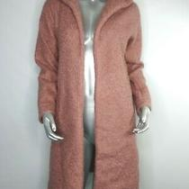 A New Day Blush Pink Teddy Coat Open Front Sherpa Size Xs New Photo