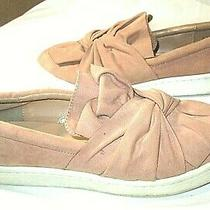 A New Day Fashion Sneakers Slip on Comfort Blush Pink Womens 9 Euc Photo