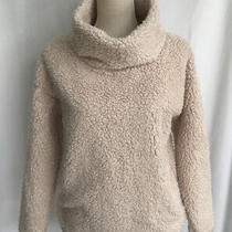 A New Day Target Sherpa Funnel Turtle Neck Sweater Blush Pink Size Small Nwt Photo