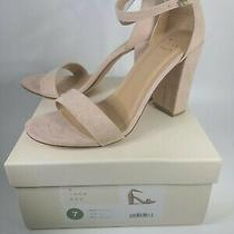 A New Day Women's Ema High 3.75 Inch Block Blush Heel Pumps Size 7 New Photo