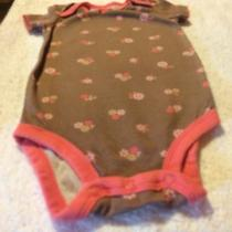 A One Piece Diaper Shirt by Child of Mine Size 3-6 Months Photo
