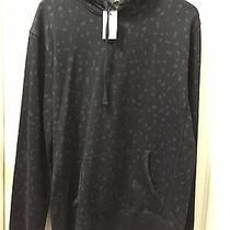 a.p.c. Animal-Print Leopard Print Cotton-Jersey Hoodie Size M Photo