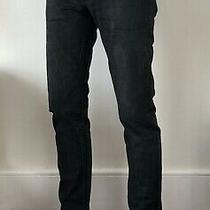 a.p.c Black Jeans Petit Standard Jean Droit Etroit Size 29 Good Used Conditi Photo