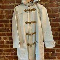 A P.c  Cotton Duffle Coat With Hoody in Ivory Size S Photo