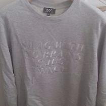 a.p.c. Gray Sweatshirt Xl Photo