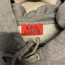 a.p.c Kanye Grey Hoodie Size Xl Mens Photo