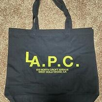 a.p.c. La Exclusive Tote Bag Dark Navy Photo