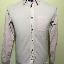 a.p.c. Lavender Shirt - M - Cotton Poplin - Patch Pocket -Mother of Pearl Button Photo