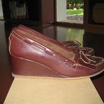 a.p.c. Moccasin Wedge Size 36 New With Box Photo