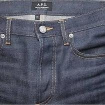 a.p.c. New Standard Men's Jeans - Size 33 - Raw Like-New Photo