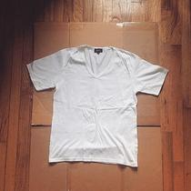 a.p.c. v-Neck T-Shirt in Size 2 Photo