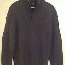 Ax Armani Exchange Long Sleeve Sweater Lg Photo