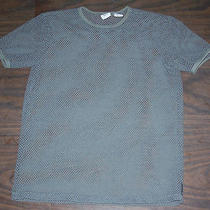 A/x Armani Exchange Sheer Mesh Net T Shirt Size S See Through Photo