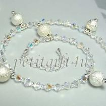 A05 Swarovski Crystal Bridal Ankle Bracelet Anklet Photo