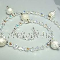 A05 Swarovski Crystal Bridal Ankle Bracelet Anklet Photo