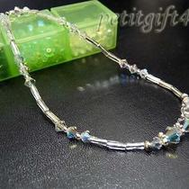 A09 Swarovski Crystal Bridal Ankle Bracelet Anklet Photo