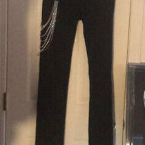 A7 Apparel Rhinestone Swarovski Studded Jeans Photo