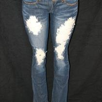 A7 Jeans Gold  - 28 -   Fully Embellished With Swarovski Elements   Photo