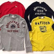 Abercrombie a&f Boys Graphic Tee Size M Muscle / 12 Lot Photo