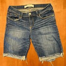 Abercrombie and Fitch Jean Shorts Size 6 Photo