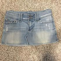 Abercrombie and Fitch Jean Skirt Size 0 Photo