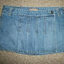 Abercrombie and Fitch Jean Skirt Size 2 Cute Photo