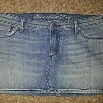 Abercrombie and Fitch Jean Skirt Size 4 Mini(10