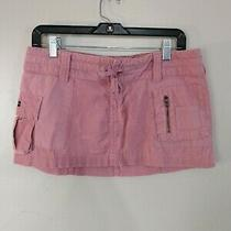 Abercrombie and Fitch Mini Skirt Size 4 Pink Corduroy Photo