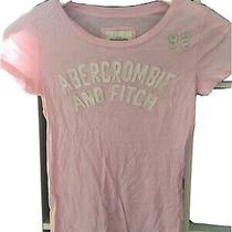 Abercrombie and Fitch Size Medium Pink Short Sleeve T-Shirt (Q13) Photo