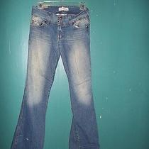 Abercrombie Blue Jeans  Size 14  (Long / Flared) Photo