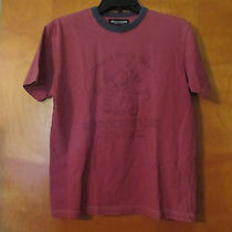 Abercrombie Boys Size M  Short Sleeve Fatigue Vintage Red Octopus T Shirt Photo