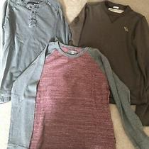 Abercrombie Express & French Connection Mens Long Sleeve Tees Photo