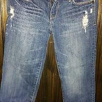 Abercrombie Factory Distressed Jeans Euc Photo