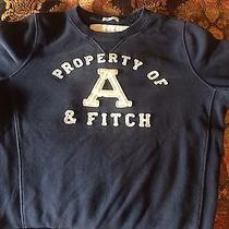 Abercrombie Fitch Black  Sweatshirt Medium Photo