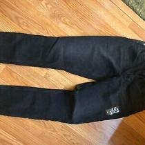 Abercrombie & Fitch Curve Love Skinny High Rise Black Denim Jeans Sz 26 2 L Photo