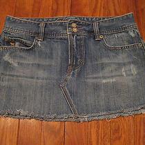 Abercrombie & Fitch Denim Jean Skirt Size 2 Photo