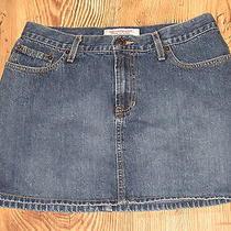 Abercrombie & Fitch Denim Jean Skirt Size 4 Photo