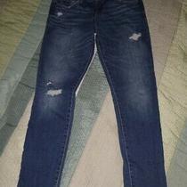 Abercrombie & Fitch Distressed Stretch Jeans -Sz 0 W25 Photo
