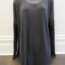Abercrombie & Fitch Grey Long Sleeve Round Neck T-Shirt - Size Xs/s Photo