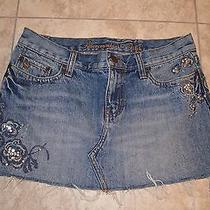 Abercrombie & Fitch Jean Skirt Photo