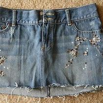 Abercrombie Fitch Jean Skirt Photo