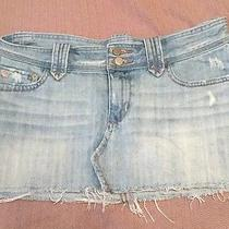 Abercrombie & Fitch Jean Skirt 6 100% Cotton  Photo
