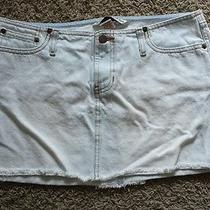 Abercrombie & Fitch Jean Skirt Size 4 Photo