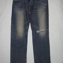 Abercrombie & Fitch Jeans 32 X 32 Men Horton 36 X 33 Classic Buttonfly Straight Photo