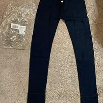 Abercrombie & Fitch Jogger Sweatpants Sz L Navy  Skinny Thermal Underwear Photo