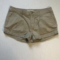 Abercrombie & Fitch Khaki Colored Shorts Size 2/26 Photo