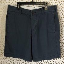 Abercrombie & Fitch Mens Dark Navy Blue Shorts Size 31 Photo