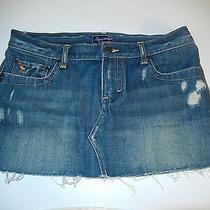 Abercrombie & Fitch Mini Denim Jeans Skirt Womens Juniors Size 4 Photo