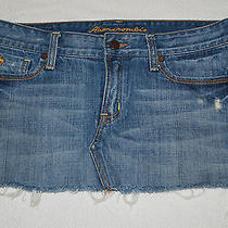 Abercrombie & Fitch Mini Jean Skirt (2) Photo